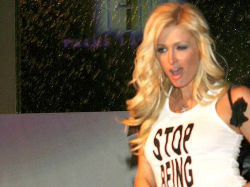 Paris Hilton confirms that 'stop being poor' top was Photoshopped