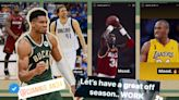 Giannis Antetokounmpo takes another jab super-teams in Instagram post