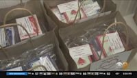 Long Island Family Makes Goodie Bags For Seniors