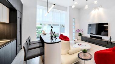 【居家裝潢】充滿簡約風和設計精粹的元朗大宅