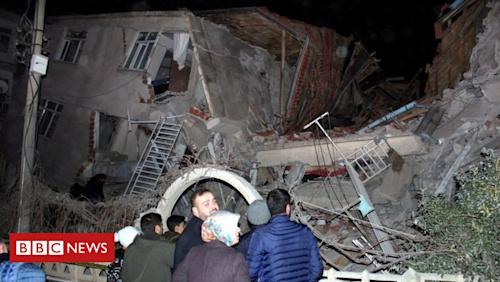 Powerful earthquake strikes eastern Turkey