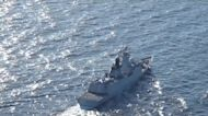 Russia and China Warships Hold First Joint Patrols in Pacific