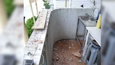 Juicy叮|樓上裝修樓下淪陷 住戶:露台變垃圾崗室內漏水