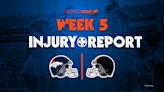 Broncos injuries: Teddy Bridgewater questionable for Week 5