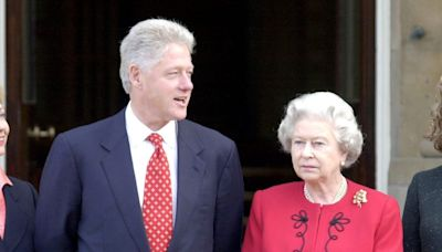 Bill Clinton turned down tea with the Queen because he wanted to get Indian food like a tourist, declassified documents say