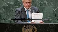 """Johnson alle Nazioni Unite: """"Il vertice COP26 sul clima sarà un punto di svolta per l'umanità"""""""
