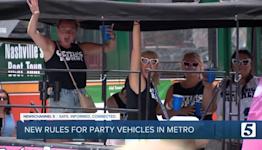 Metro passes party bus regulations