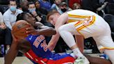 Detroit Pistons, without Jerami Grant, unable to soar with Atlanta Hawks, 122-104