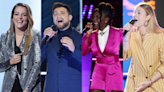 'The Voice' 4-Way Knockout: Taryn Papa, Julia Cooper, Larriah Jackson & Ryan Gallagher Face Off for Live Shows