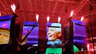 Rolling Stones honour Charlie Watts' memory at opening show of first tour without drummer