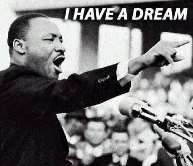 martin luther king jr s famous i have a dream