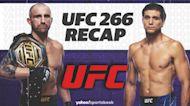 UFC 266 Instant Reaction