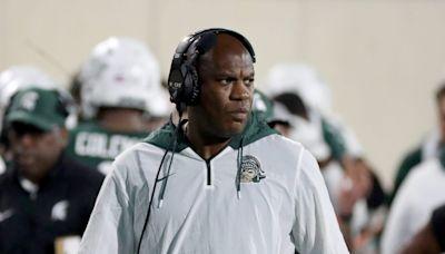 Michigan State's Mel Tucker brushes off LSU football coach rumors, says he's focused on Michigan