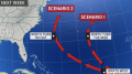 Tropical storm could develop over open waters of Atlantic