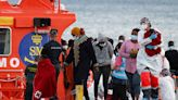 Dozens of migrants rescued by Spanish coast guard