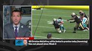 Rapoport: Christian McCaffrey has 'a shot' to suit up vs. Vikings