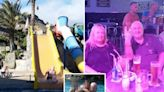 Family jailed after fake food poisoning claims exposed by waterslide pics