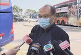 人大代表及政協委員到深圳接種第二劑國藥疫苗 下午陸續回港
