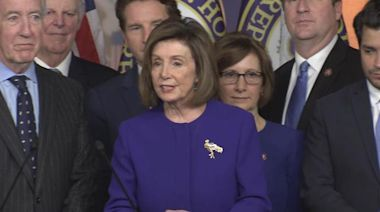 "Pelosi: Timing of trade deal with Mexico and Canada and announcement of articles of impeachment not a ""coincidence"""
