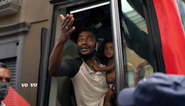In Mexico, we've seen destitute Haitian families heading north for weeks. Why was US unprepared?