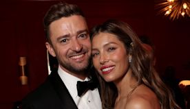 Jessica Biel Posts Throwback Emmys Pic of Her Cuddled Up to Justin Timberlake