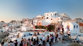 Plexiglass lounger screens and no more crowded sunsets as Santorini prepares to reopen