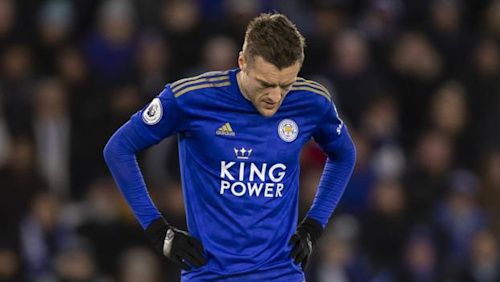 Jamie Vardy: Leicester City striker could be fit to face Aston Villa in Carabao Cup