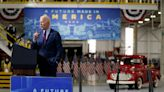 Biden blasts Trump for rolling back fuel standards, says future of autos is electric
