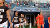 Kansas City NWSL Kicks Off Home Opener by Demanding Justice for Daunte Wright