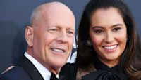 Bruce Willis, His Wife Emma & Demi Moore Cheer On His Daughter As She Aces First Bike Ride