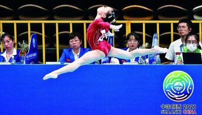 體操女子團體決賽:每一道弧線都是拼搏的注腳-國際在線