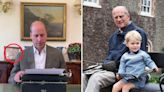 Prince William pays hidden sweet tribute to beloved Prince Philip & son George