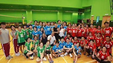 TVB《明星運動會》男女排球7月有得睇黃子恆朱智賢任隊長搏到盡