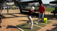 Baseball stars of the future show out in MLB Jr. Home Run Derby