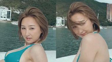 性感三點式極吸睛 高海寧出海擺多個誘惑pose - 今日娛樂新聞 | 香港即時娛樂報道 | 最新娛樂消息 - am730