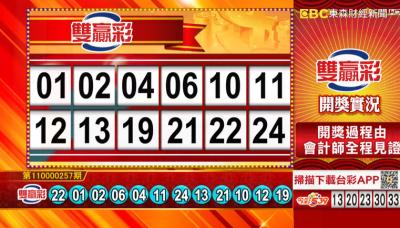 10/27 雙贏彩、今彩539 開獎囉!