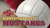 College volleyball: Midwestern State vs Eastern New Mexico – October 23, 2021