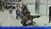 Local War Veterans Honor Flight To Washington DC
