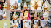 日本13縣15隻特殊口味霜淇淋~金箔、海膽、龍蝦、蕎麥、櫻花、醬油、豆腐乳、流冰