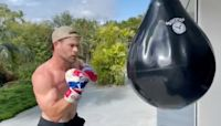 Chris Hemsworth Shows Off His Ripped Abs While Sharing His Training Routine For Upcoming Movie