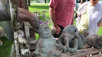 Locals embrace art throughout community