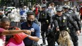 Three Ohio police officers face criminal charges over response to George Floyd demonstrations