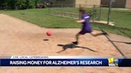 Children's kickball tourney raises thousands for Alzheimer's research