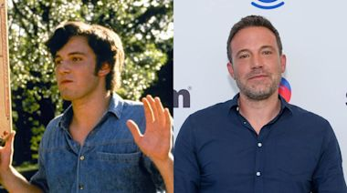 Ben Affleck says he had to 'Bill Clinton it' around Matthew McConaughey and their 'Dazed and Confused' costars when they were getting stoned on set