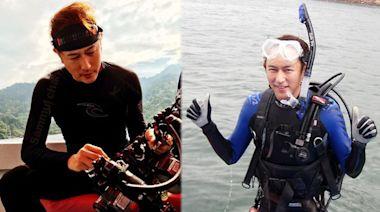 前無綫藝人陳鍵鋒被指一對一教人潛水 學員遇溺身亡 經理人:無可奉告 | 蘋果日報