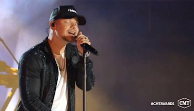 Kansas City Chiefs' Patrick Mahomes took the stage at last week's Kane Brown concert