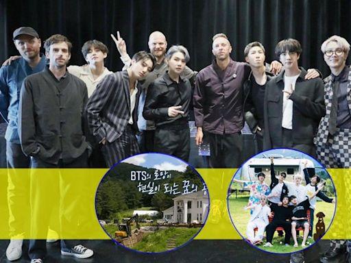 BTS同Coldplay合作新歌明推出 劇組為《In The Soop 2》起屋花絮曝光