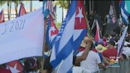Hundreds Attend 'Down With The Chains' Rally At Bayfront Park For Freedom For Cuba, Venezuela & Nicaragua