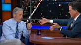 Jon Stewart Riffs on Coronavirus Lab Theories and Vaccine Science on 'The Late Show'