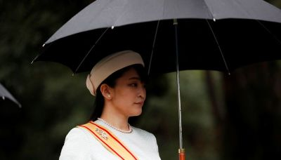 Japan's Princess Mako to give up one-off payment in controversial marriage -media